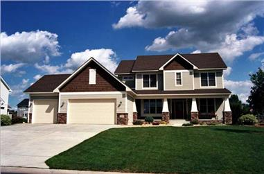 3-Bedroom, 2278 Sq Ft Country Home Plan - 165-1131 - Main Exterior