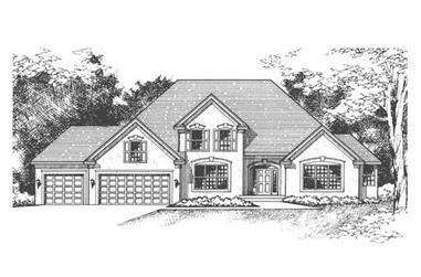3-Bedroom, 2691 Sq Ft Cape Cod House Plan - 165-1139 - Front Exterior