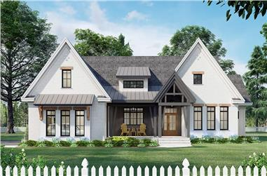 3-Bedroom, 2336 Sq Ft Ranch Home Plan - 165-1154 - Main Exterior