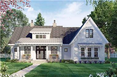 3-Bedroom, 2385 Sq Ft Ranch Home Plan - 165-1159 - Main Exterior