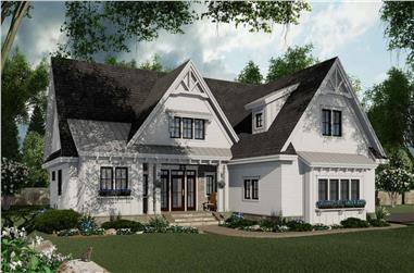 3-Bedroom, 2046 Sq Ft Ranch Home Plan - 165-1165 - Main Exterior