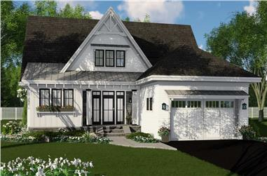 3-Bedroom, 2453 Sq Ft Farmhouse House Plan - 165-1167 - Front Exterior