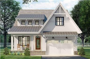 3-Bedroom, 2456 Sq Ft Farmhouse House Plan - 165-1168 - Front Exterior
