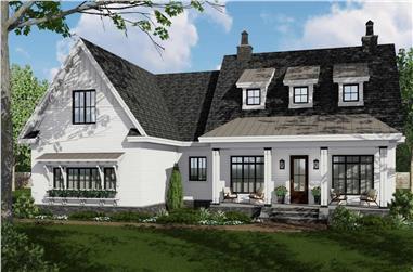 3-Bedroom, 2332 Sq Ft Ranch Home Plan - 165-1180 - Main Exterior