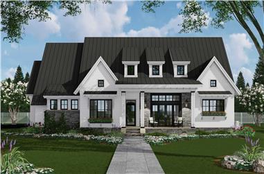 3-Bedroom, 2287 Sq Ft Ranch Home Plan - 165-1183 - Main Exterior