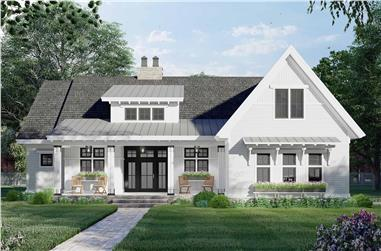 3-Bedroom, 2122 Sq Ft Ranch House Plan - 165-1189 - Front Exterior