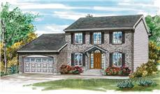 Main image for house plan # 7036