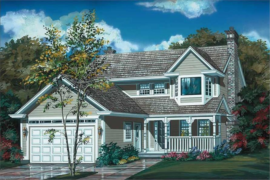Main image for house plan # 7039