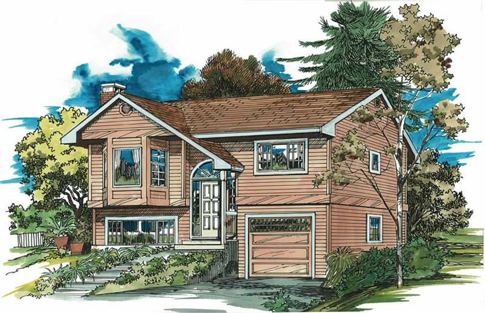 Main image for house plan # 7052