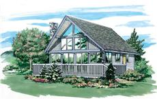 Main image for house plan # 7009