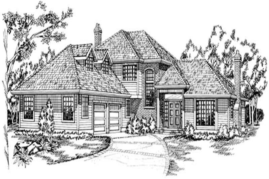 Main image for house plan # 6892