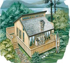 House Plan #167-1021