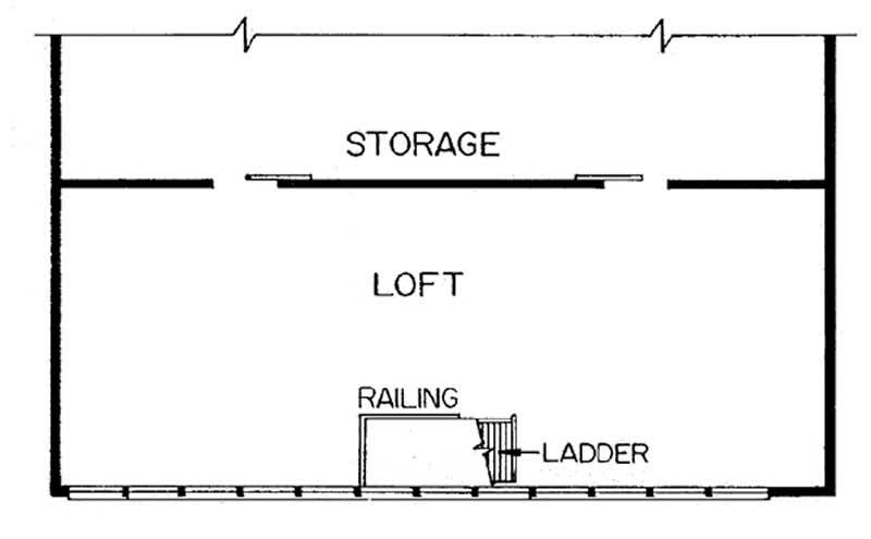 Upper Loft/Storage