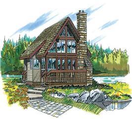 House Plan #167-1022