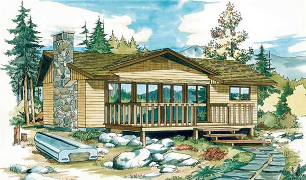 Main image for house plan # 7002