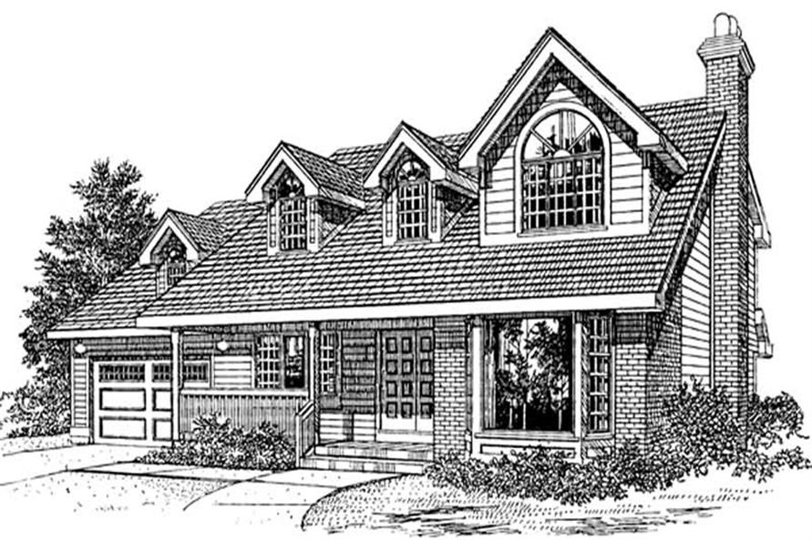 Main image for house plan # 7061