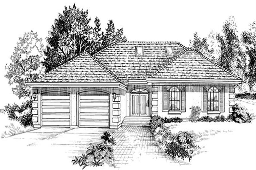 Main image for house plan # 7121