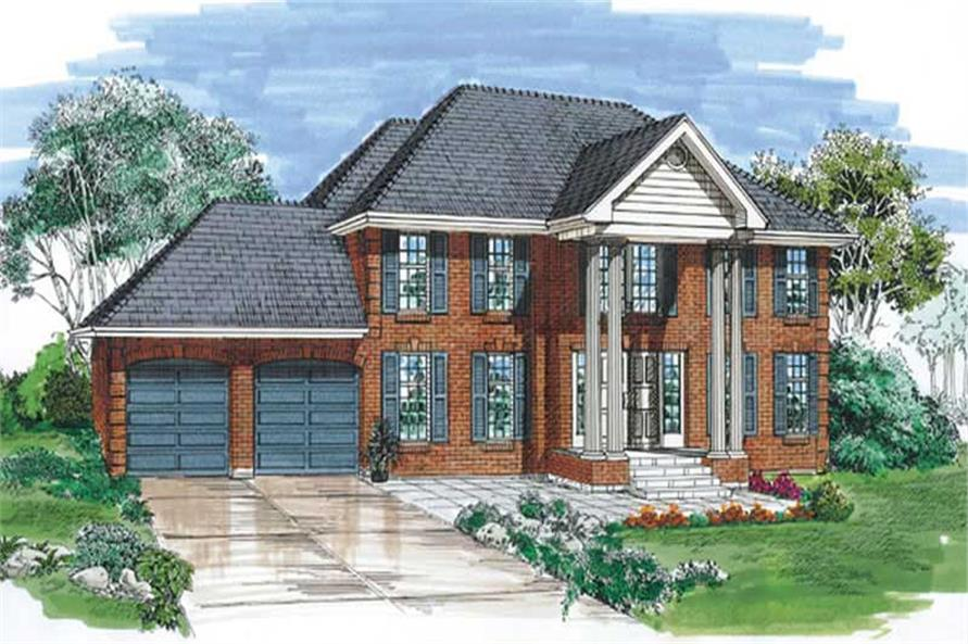 Main image for house plan # 6980