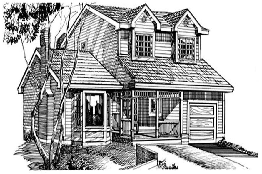Main image for house plan # 7059