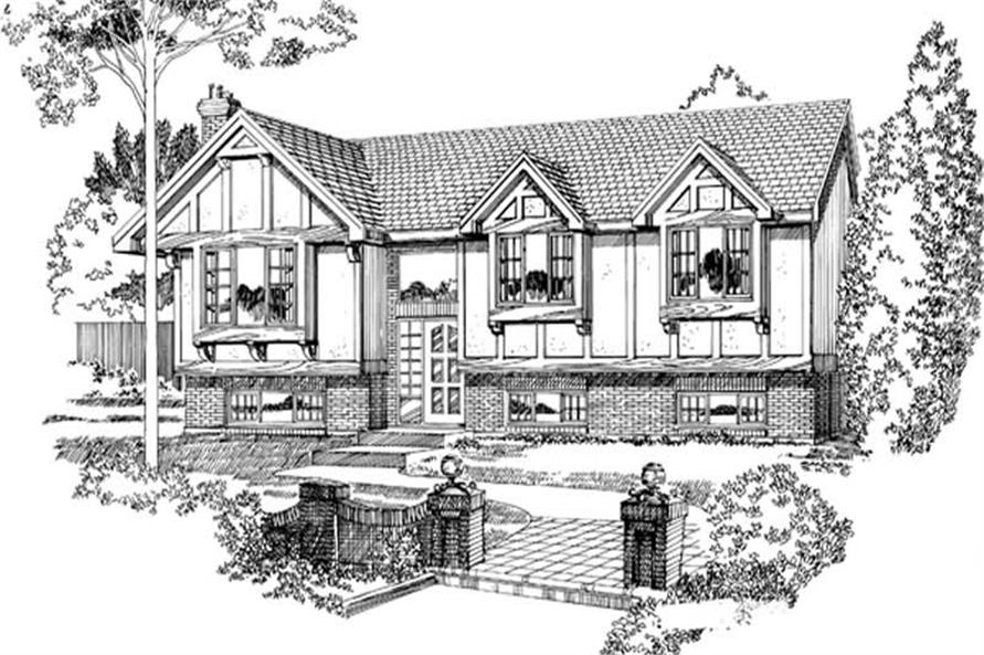 Main image for house plan # 7072