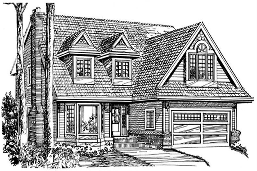 Main image for house plan # 7062