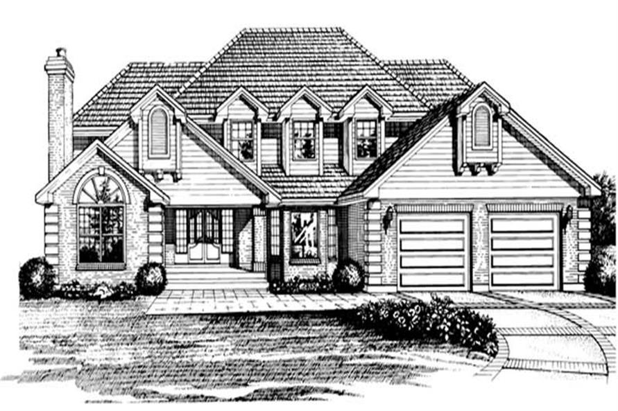 Main image for house plan # 7082