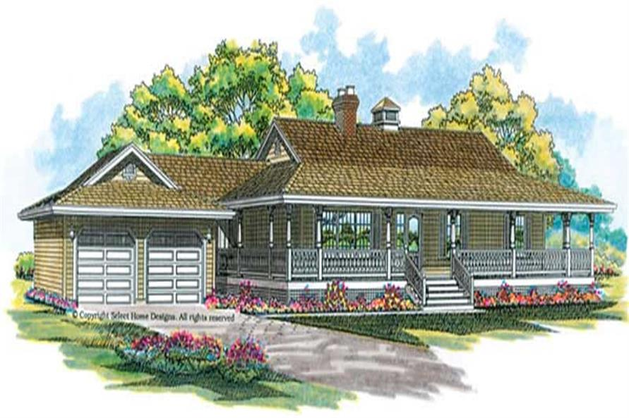 Main image for house plan # 7093