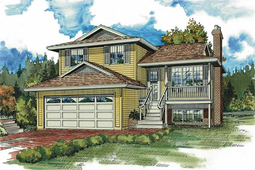 Main image for house plan # 7069