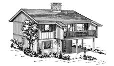 Main image for house plan # 7017