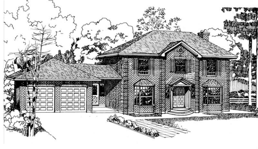Main image for house plan # 7037