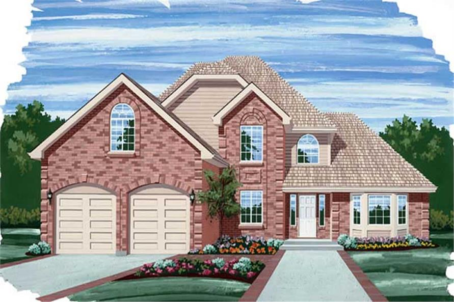 Main image for house plan # 6900