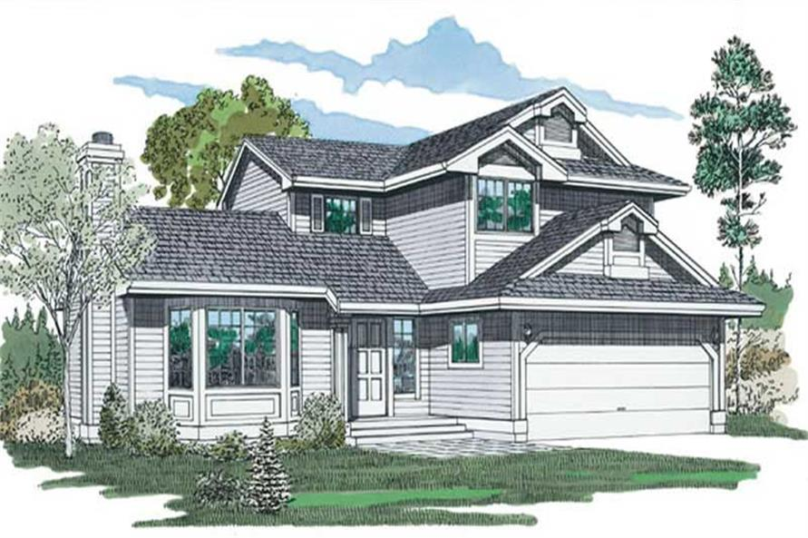 Main image for house plan # 6905