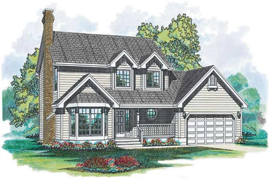 Main image for house plan # 6908