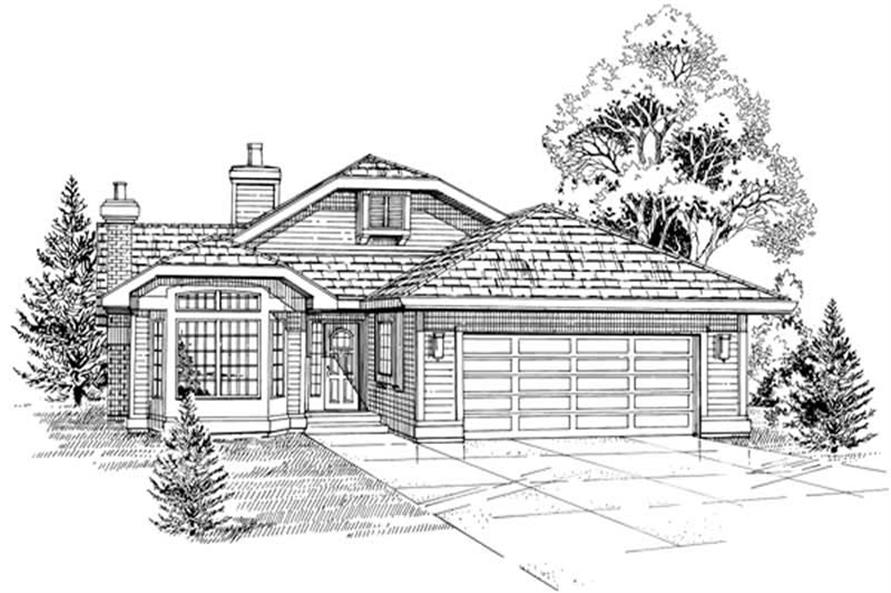Main image for house plan # 6977