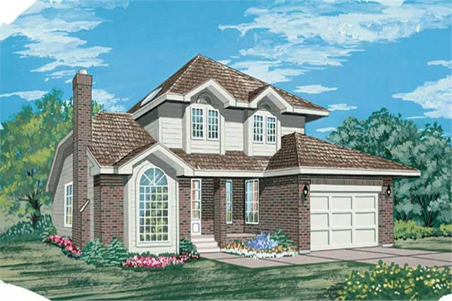 Main image for house plan # 6976