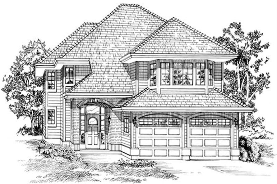 Main image for house plan # 6879