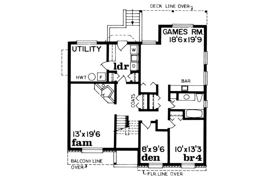 3-Bedroom, 1526 Sq Ft Small House Plans - 167-1121 - Front Exterior