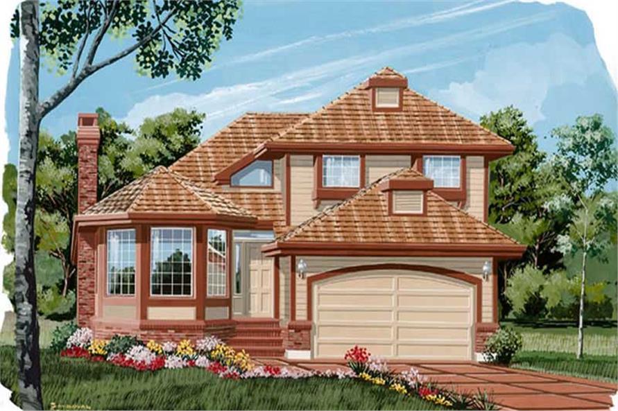 Main image for house plan # 7356