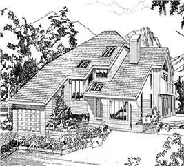 House Plan #167-1126