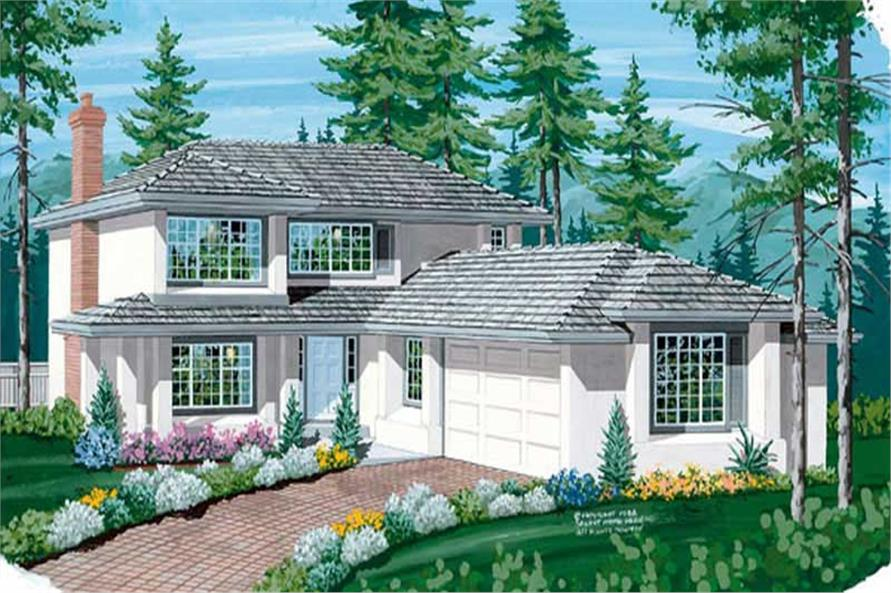 Main image for house plan # 7048