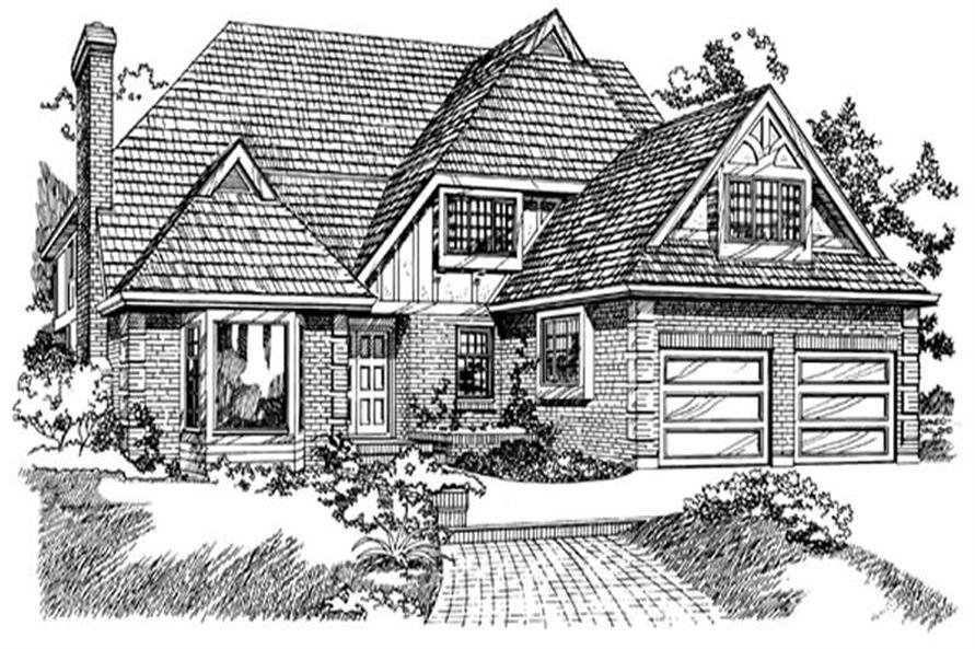 Main image for house plan # 7064