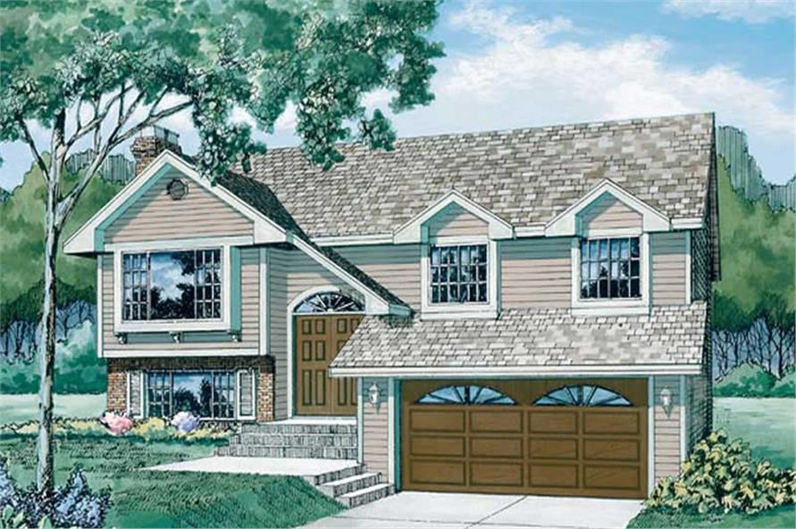 Main image for house plan # 7066