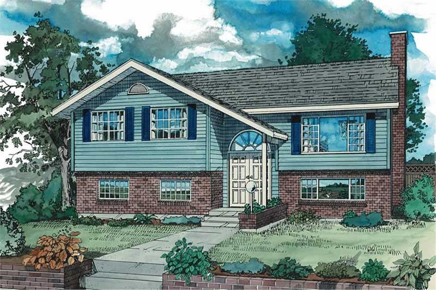 Main image for house plan # 7067
