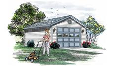 Main image for house plan # 7376