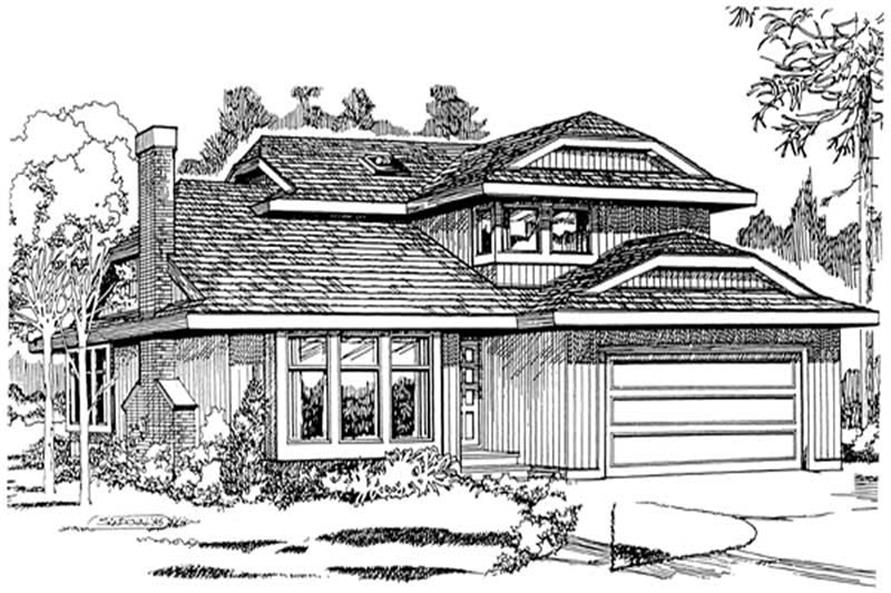 Main image for house plan # 7046