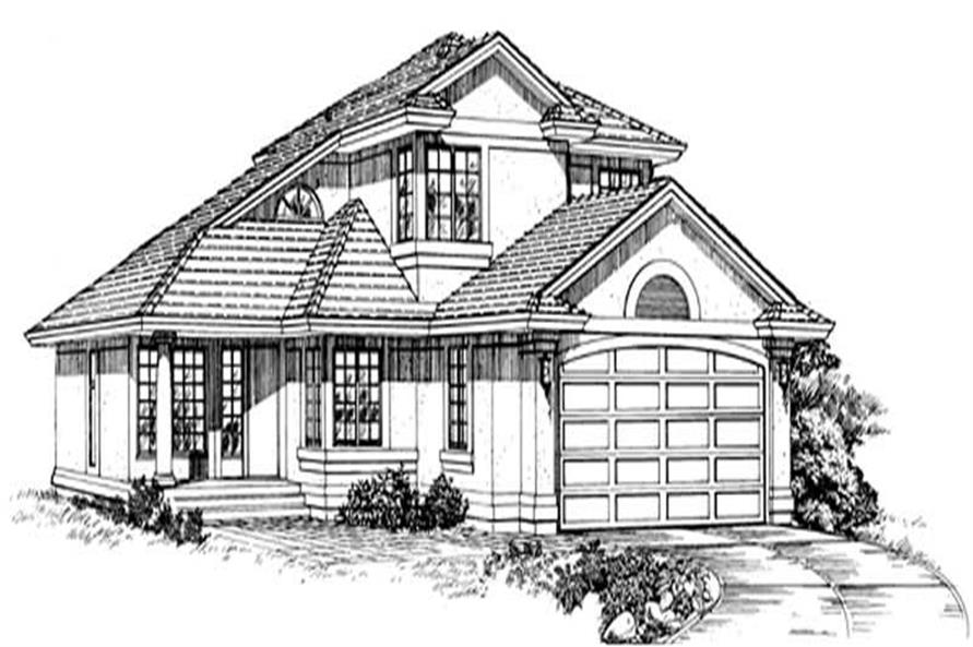 Main image for house plan # 7123