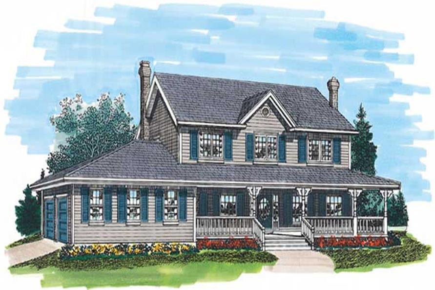 Main image for house plan # 7125
