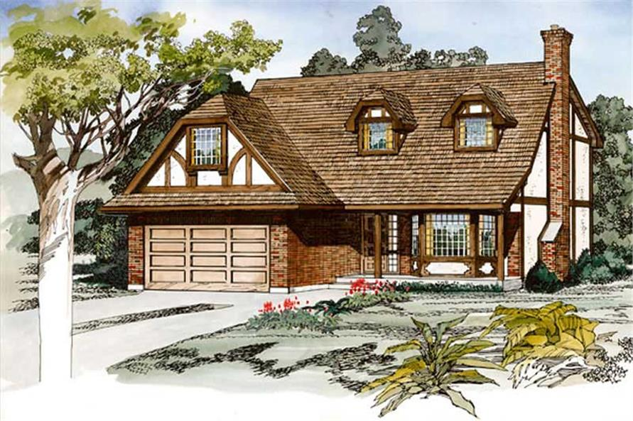 Main image for house plan # 7332