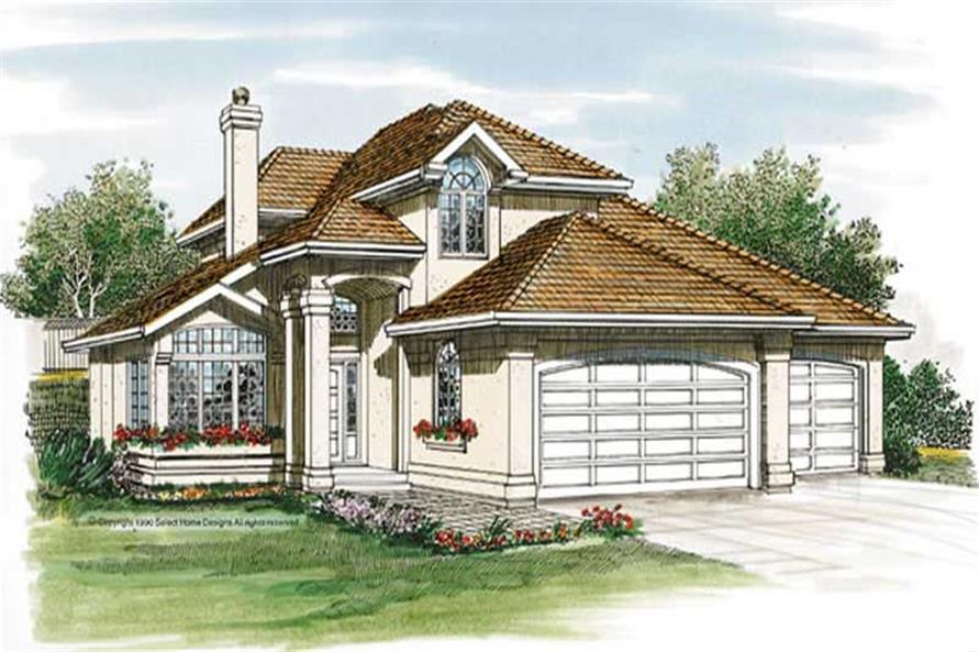 Main image for house plan # 7124
