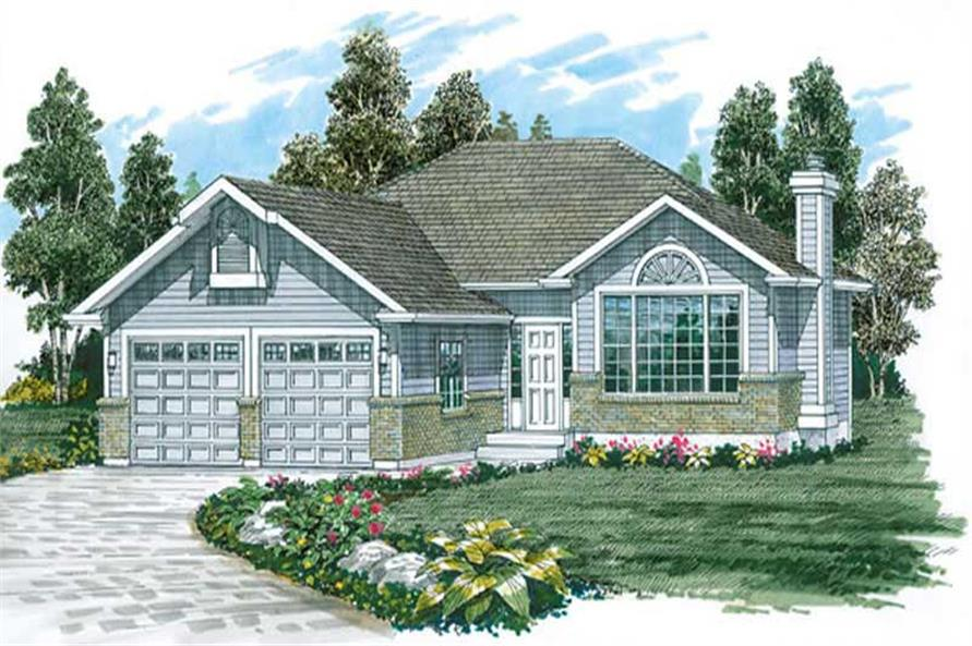 Main image for house plan # 7143